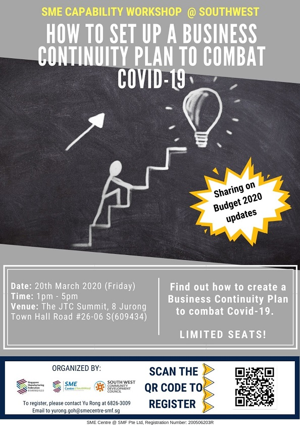 https://www.eventbrite.sg/e/how-to-set-up-a-business-continuity-plan-to-combat-covid-19-registration-97049833665
