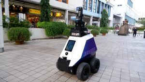 Singapore Deploys Patrol Robots to Deter Poor Social Behaviour